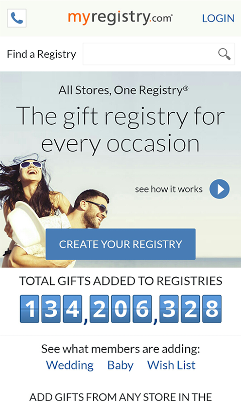 What is gift registry for wedding images wedding decoration ideas amazon myregistry baby registry wedding registry malvernweather Image collections
