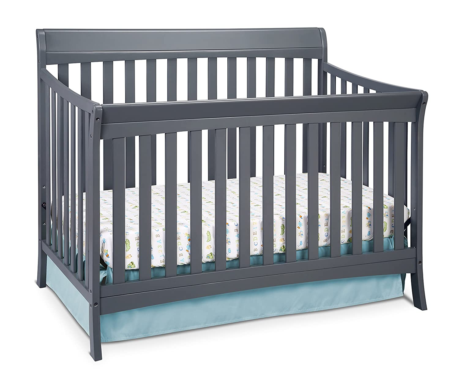 with en cribs convertible fisher grey price canada kingsport in snow ip height the just right white crib walmart