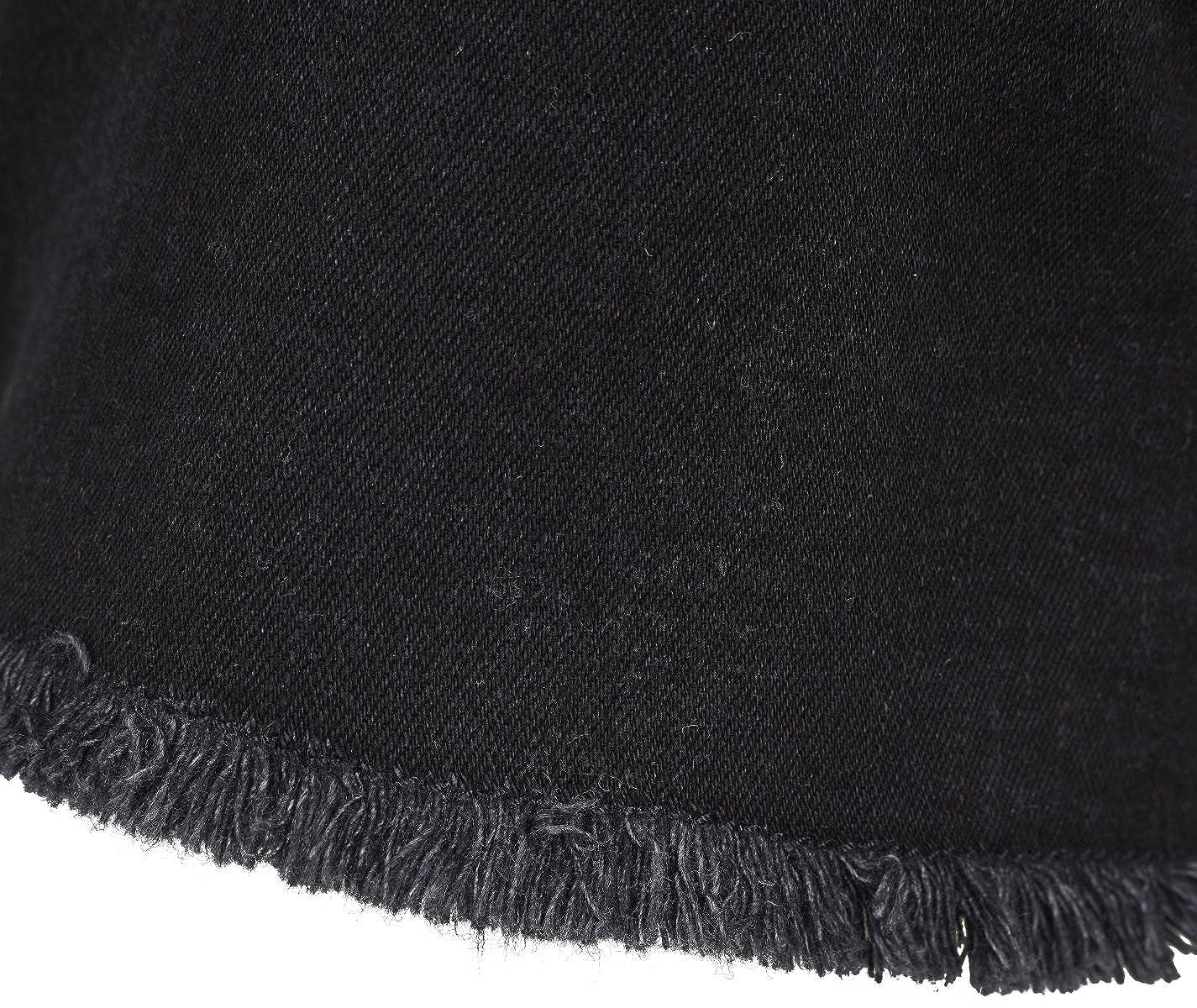 Urban Classics Ladies Highwaist Denim Lace Up Shorts Pantaloncini Donna