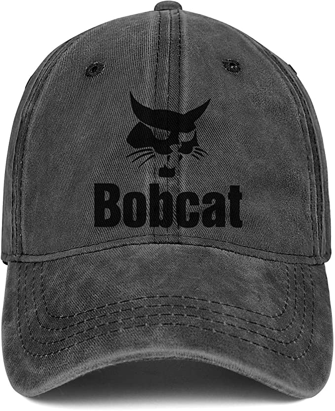 Unisex Mens Stylish Hip Hop Hat Six Panel Baseball Cap Bobcat-Logo