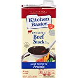 Kitchen Basics No Salt Beef Stock, 32 oz