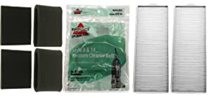 Bissell Lift-Off Supply Kit. Includes (4) Style 7 and 8 Foam Filter Kits, (2) Style 8 HEPA Filters, (2) Style 8 Belts