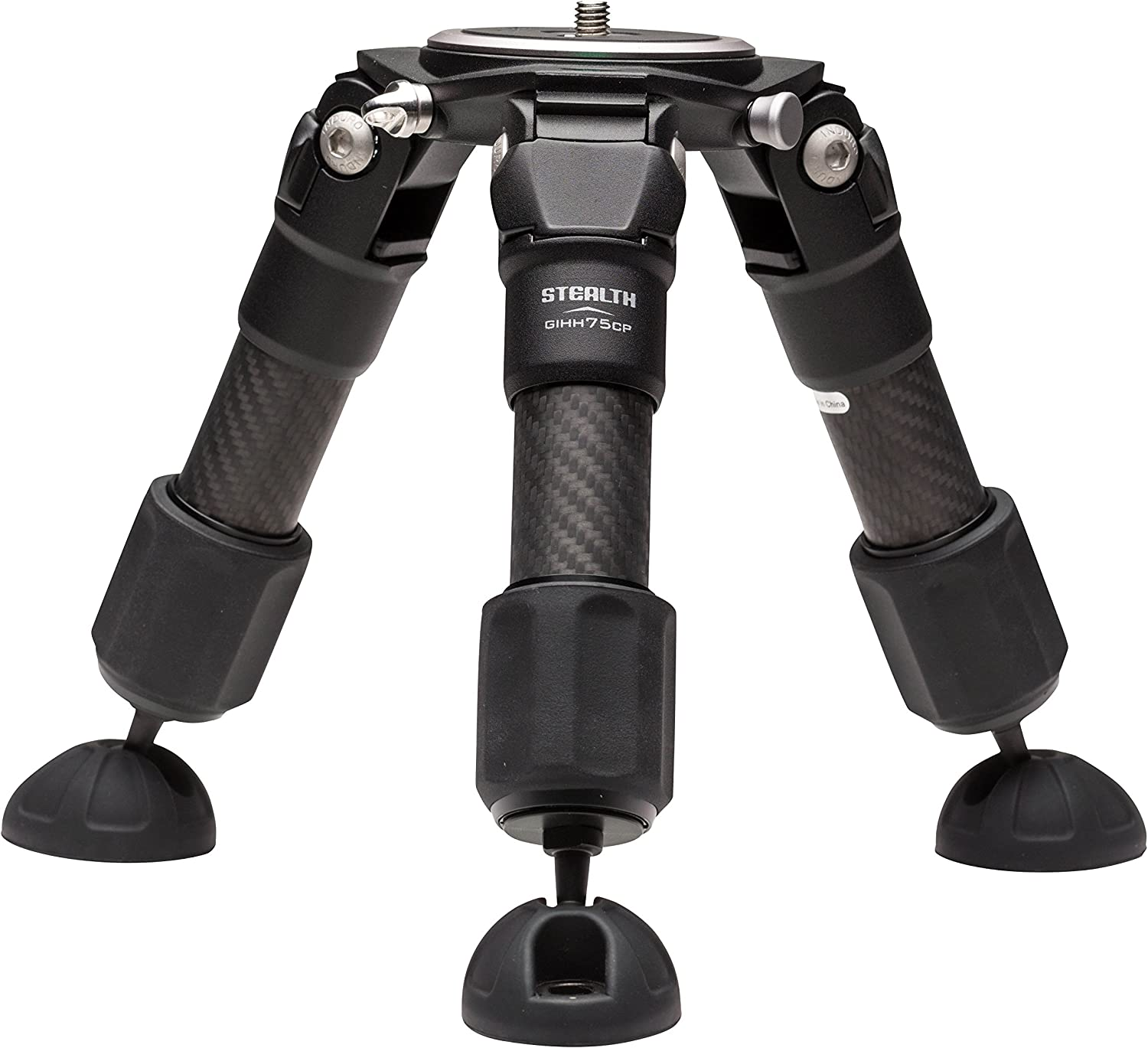 Induro Tripods GIHH75CP Baby Grand CF Tripod, 2 Sections, 75mm (Black)