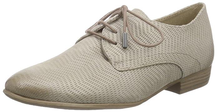 51937 Rieker - Chaussures En Cuir Avec Lacets Femme, Bleu, Taille 37