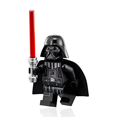 LEGO Star Wars Minifigure - Darth Vader (White Head-Neck Piece Helmet) 75093: Toys & Games