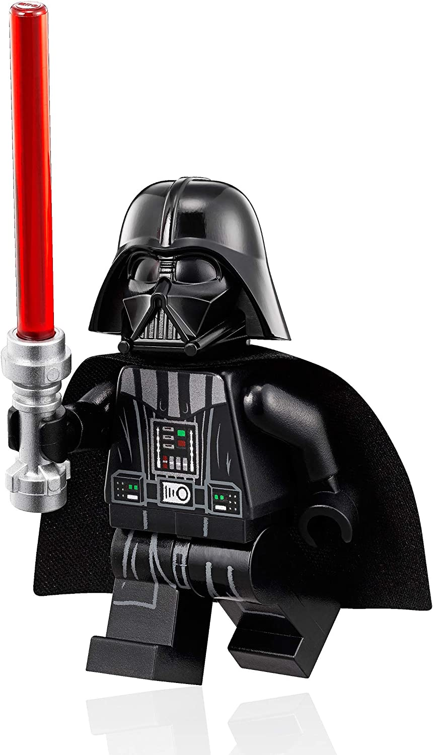 - Amazon.com: LEGO Star Wars Minifigure - Darth Vader (White Head