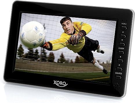 Xoro portátil TV 17.78 cm 7 Zoll PTL 700 Akkubetrieb Negro: Amazon.es: Electrónica