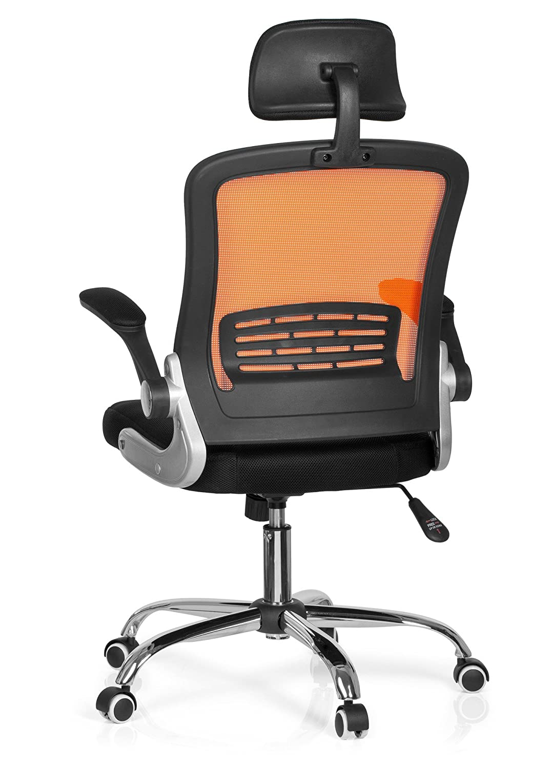 Hjh Office Vendo Net Silla de oficina Multicolor (Orange/Black ...