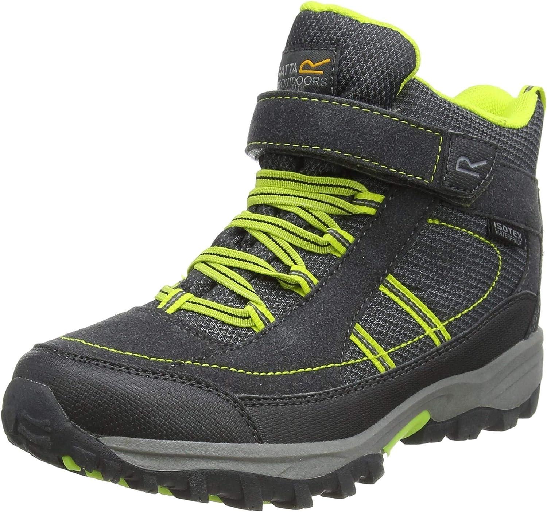 Regatta Unisex Kids/' Trailspace Ii Mid Junior Walking Boot High Rise Hiking