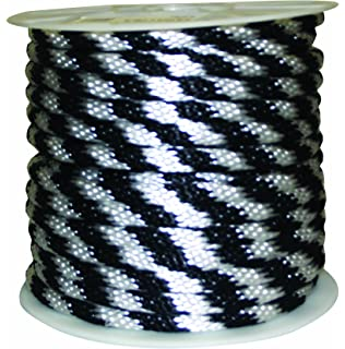 Colors may vary Rope King DBP-316100 Diamond Braided Poly Rope 3//16 inch x 100 feet
