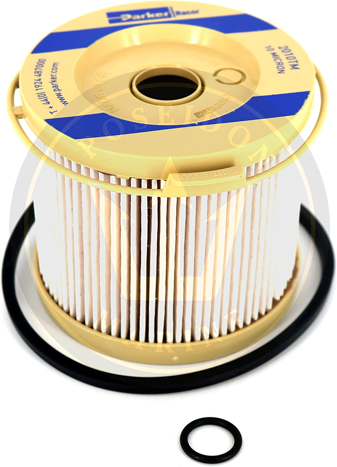 Pack of 2 2010TM-OR Racor Fuel Filter Element 10 Microns