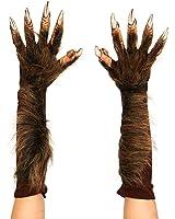 Zagone Studios Men's Wolf Gloves (Brown)