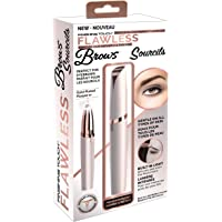 Original & Official Flawless Brows Facial Hair Remover by Finishing Touch with Gold Plated Head-Canadian Edition