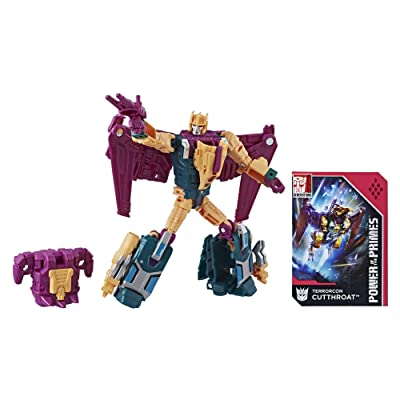 Transformers Generations Power of the Primes Deluxe Terrorcon Cutthroat: Toys & Games