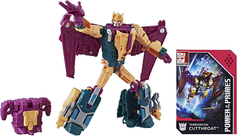 Transformers Generations Puissance des primes Deluxe TERRORCON fardée Hasbro