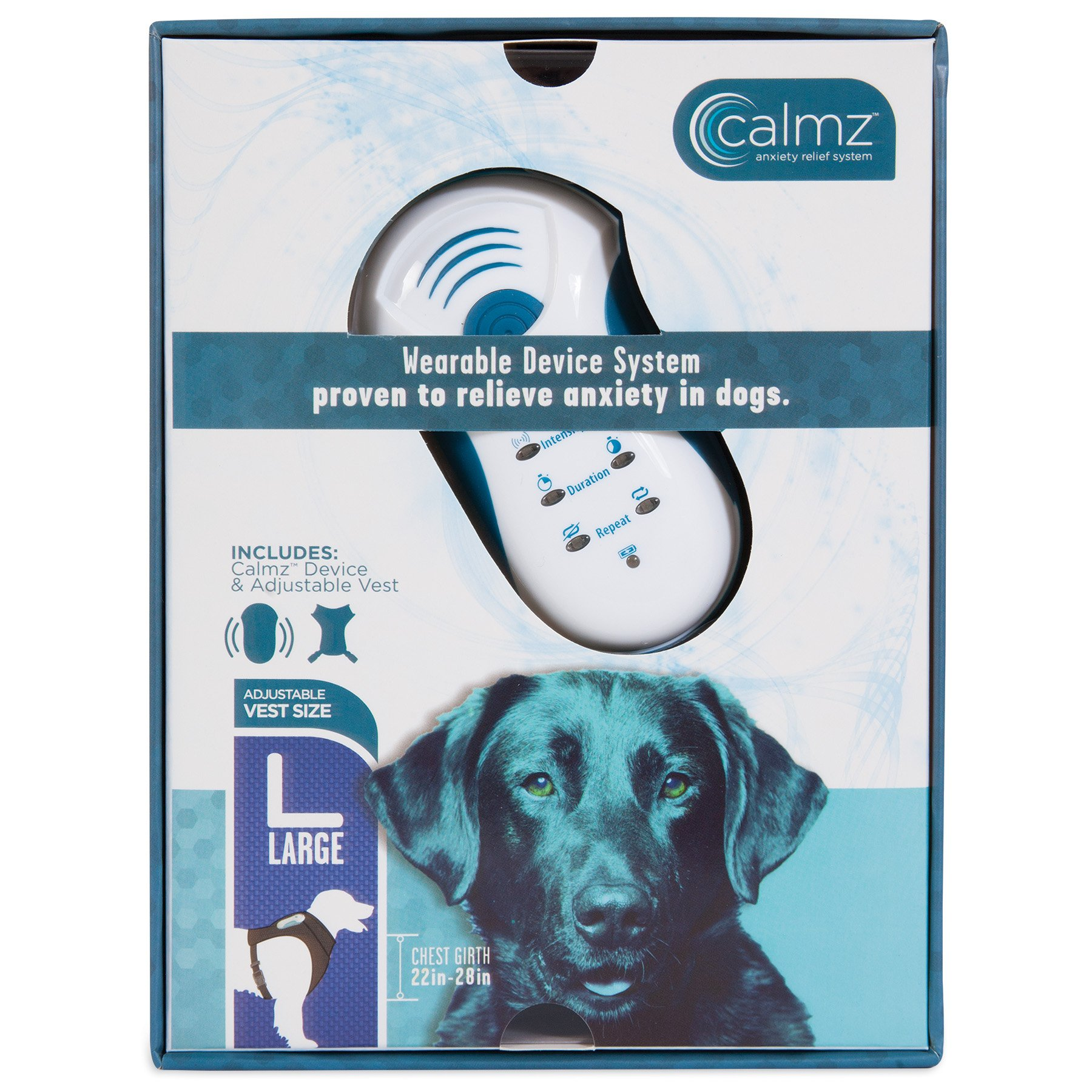 Petmate Calmz Anxiety Relief System for Dogs, Large