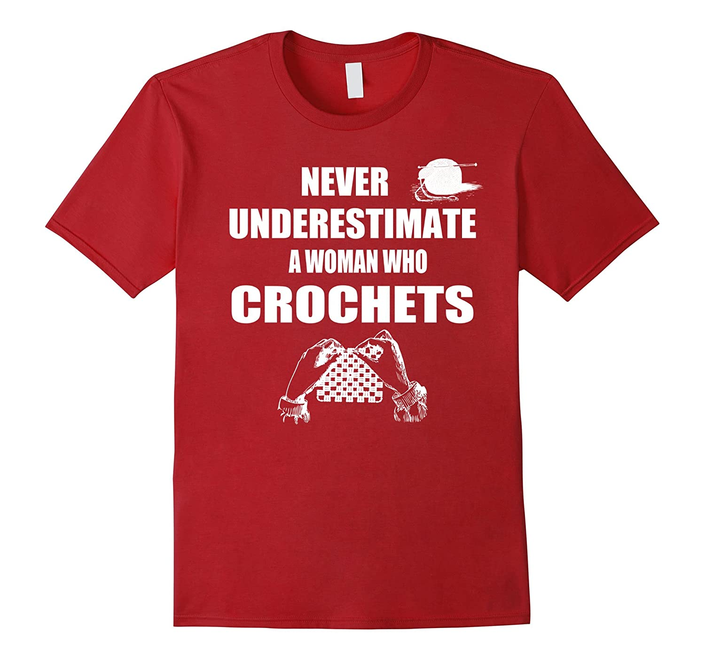 Crochet Gifts Ideas T Shirt Funny Crocheting Apparel
