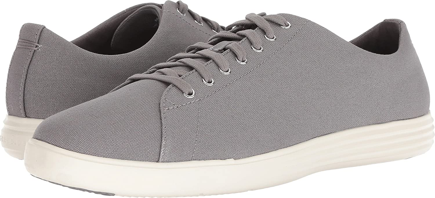Ironstone Canvas Cole Haan Men's Grand Crosscourt Ii Sneaker