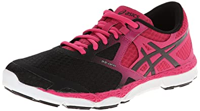 watch acd92 7a2b4 ASICS Women s 33-DFA¿ Onyx Hot Pink Black 5 B - Medium