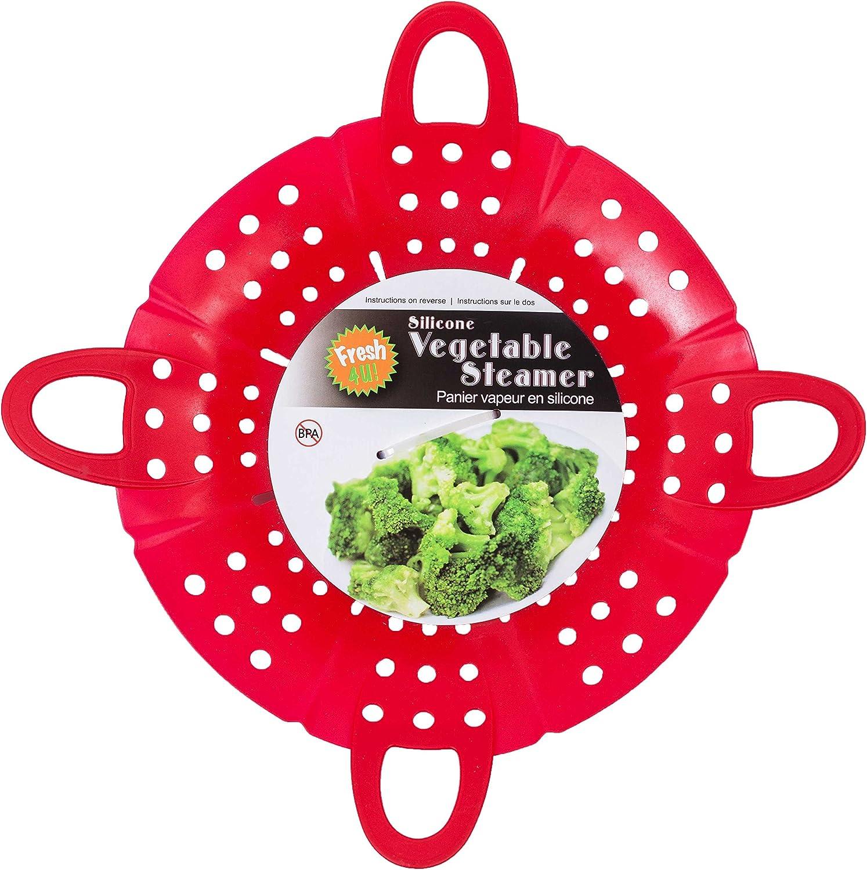 Fresh 4 U Silicone Vegetable Steamer