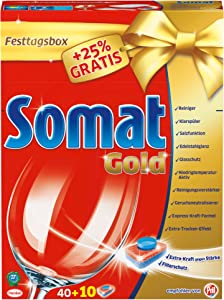 Somat Tabs Gold XL Plus 25Percent Free Pack of 1x 50tabs)