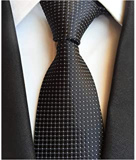 8d12e9c748e5 Mens Modern Window Pane Checks Slim Tie Gingham Pattern Designer Wedding  Necktie