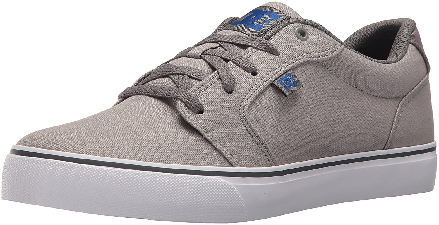 DC Men's Anvil TX Skate schuhe, Light grau Dark grau, 6 D US
