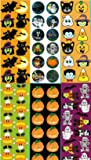 Halloween Sticker Assortment (Almost 1,000 Stickers)