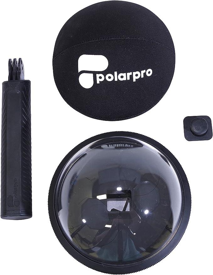 Polar Pro FiftyFifty - Cúpula para GoPro Hero 7, Hero6, Hero5, Color Negro