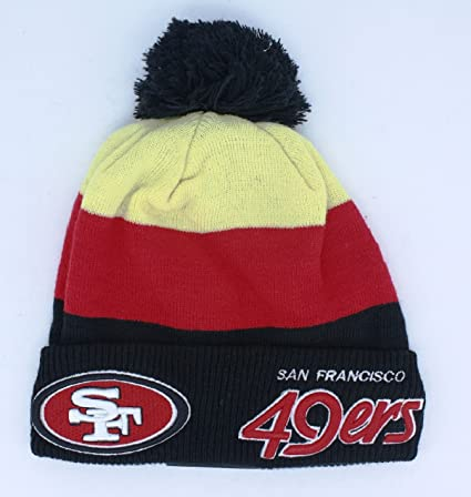 d612df245f2 ... 50% off san francisco 49ers beanie new era cuffed knit hat 071e2 6718d