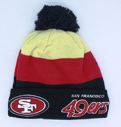 02434e76ef0 ... 50% off san francisco 49ers beanie new era cuffed knit hat 071e2 6718d