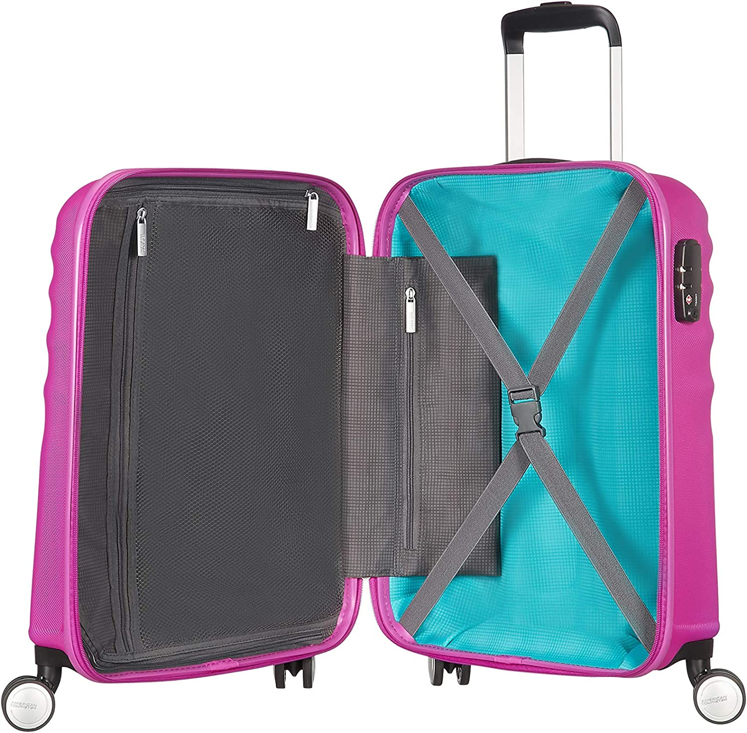 55 cm 36 Liters Hot Lips Pink 74133//B198 American Tourister Hand Luggage
