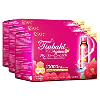 AFC Japan Tsubaki Ageless Beauty Collagen Drink from Japan with 10,000mg Marine...