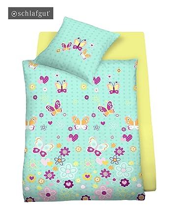 Schlafgut Mako Jersey Bettwäsche Für Kinder 135x200 80x80 In