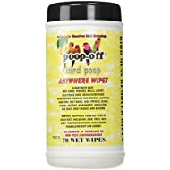 Poop-Off Anywhere Bird Poop Remover Wet Wipes, Set of 70