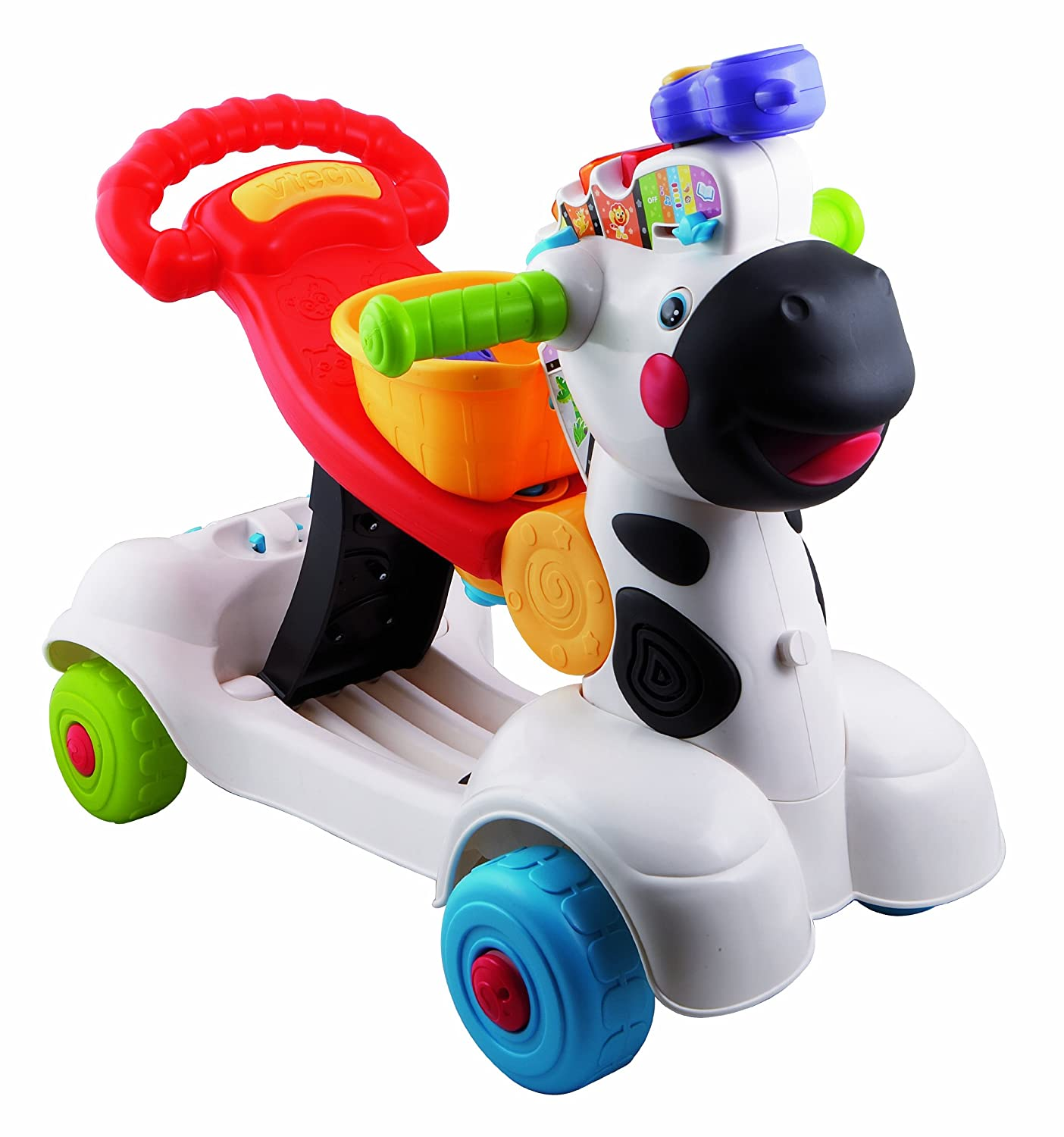 Amazon.com: Vtech Infantil – cebra Scooter: Toys & Games