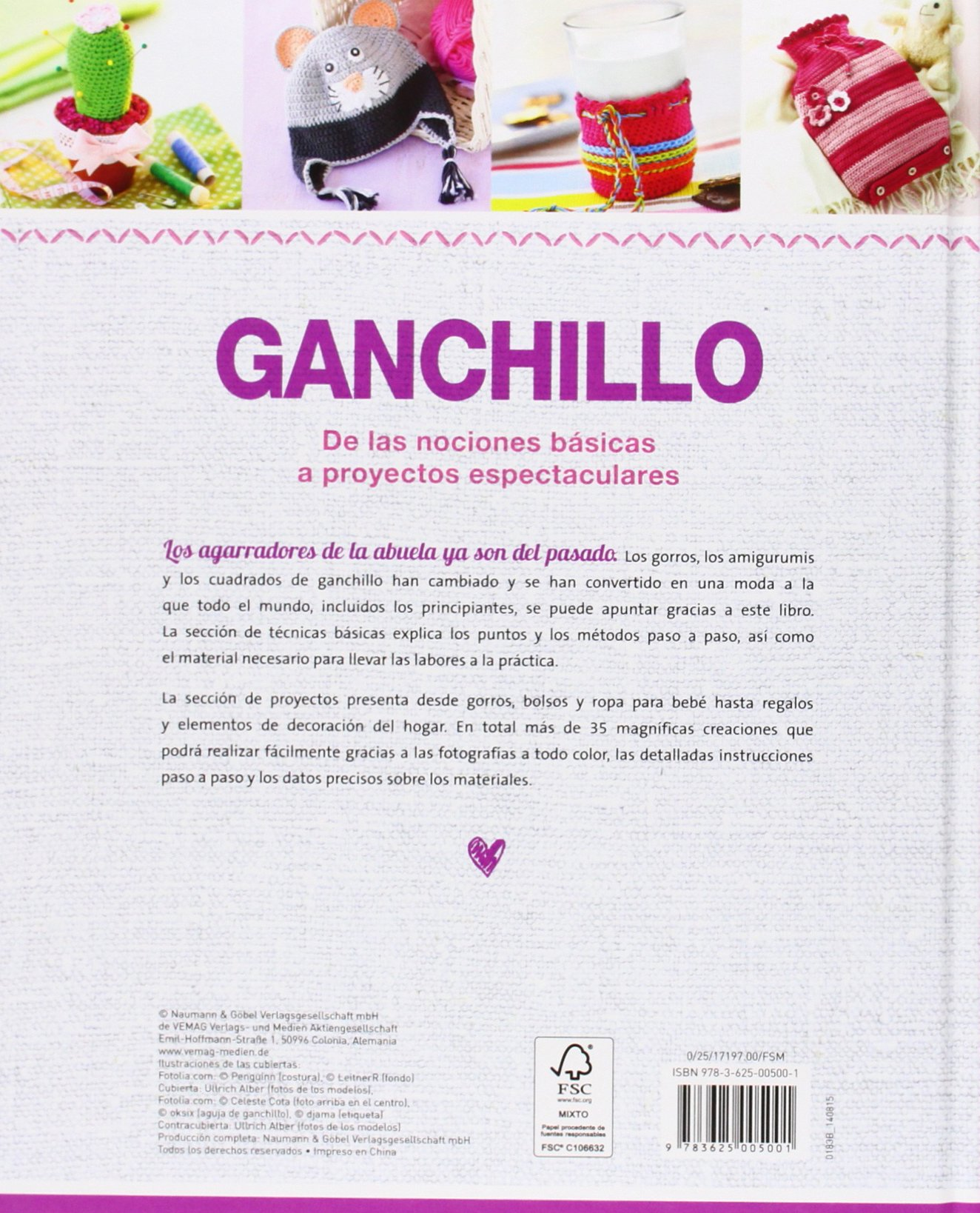 GANCHILLO - NGV: 9783625005001: Amazon.com: Books