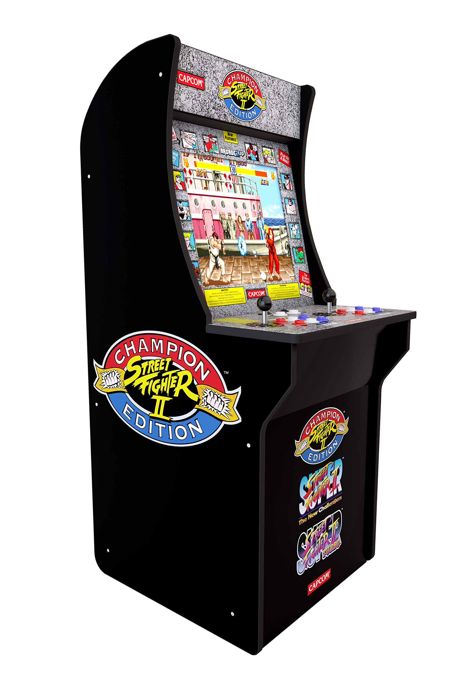 Arcade1Up Street Fighter - Classic 3-in-1 Home Arcade, 4Ft - Not Machine Specific by Arcade1Up (Image #2)