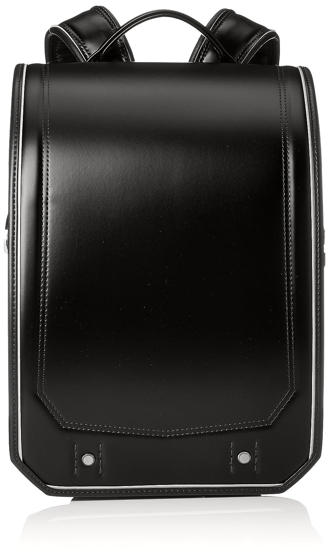 [ふわりぃ] 【公式】ランドセル Gran Compact 2019年度モデル 男児 05-39000 B07BSP7M77ブラック/ブラックステッチ