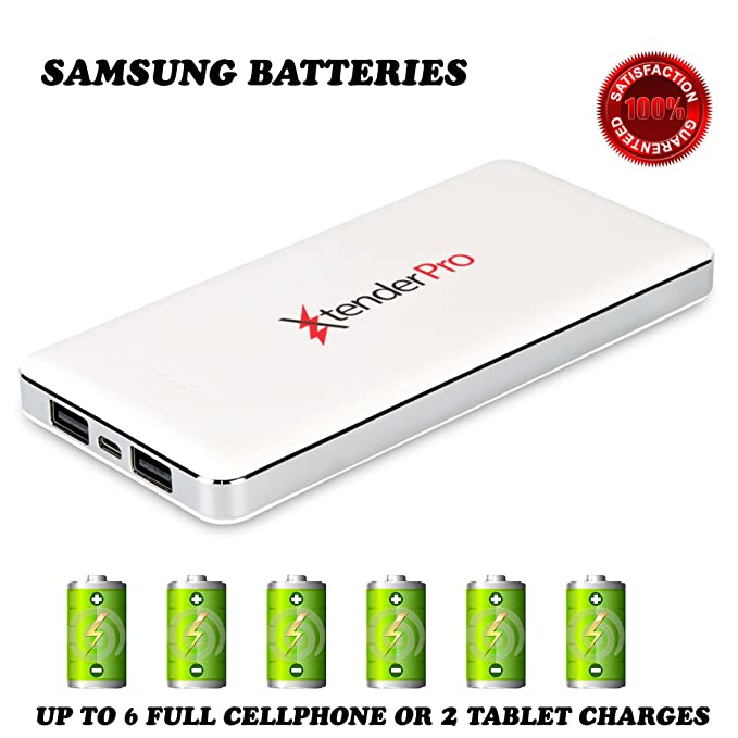 High Capacity Fast Portable Charger External Battery Power Bank For Cell  Phone and Tablet. Dual 3928d215deaf