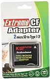 Komputerbay MicroSD to CompactFlash Adapter High Speed Micro SD to Compact Flash Type I CF