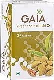 Gaia Green Tea Elaichi 25 tea bags