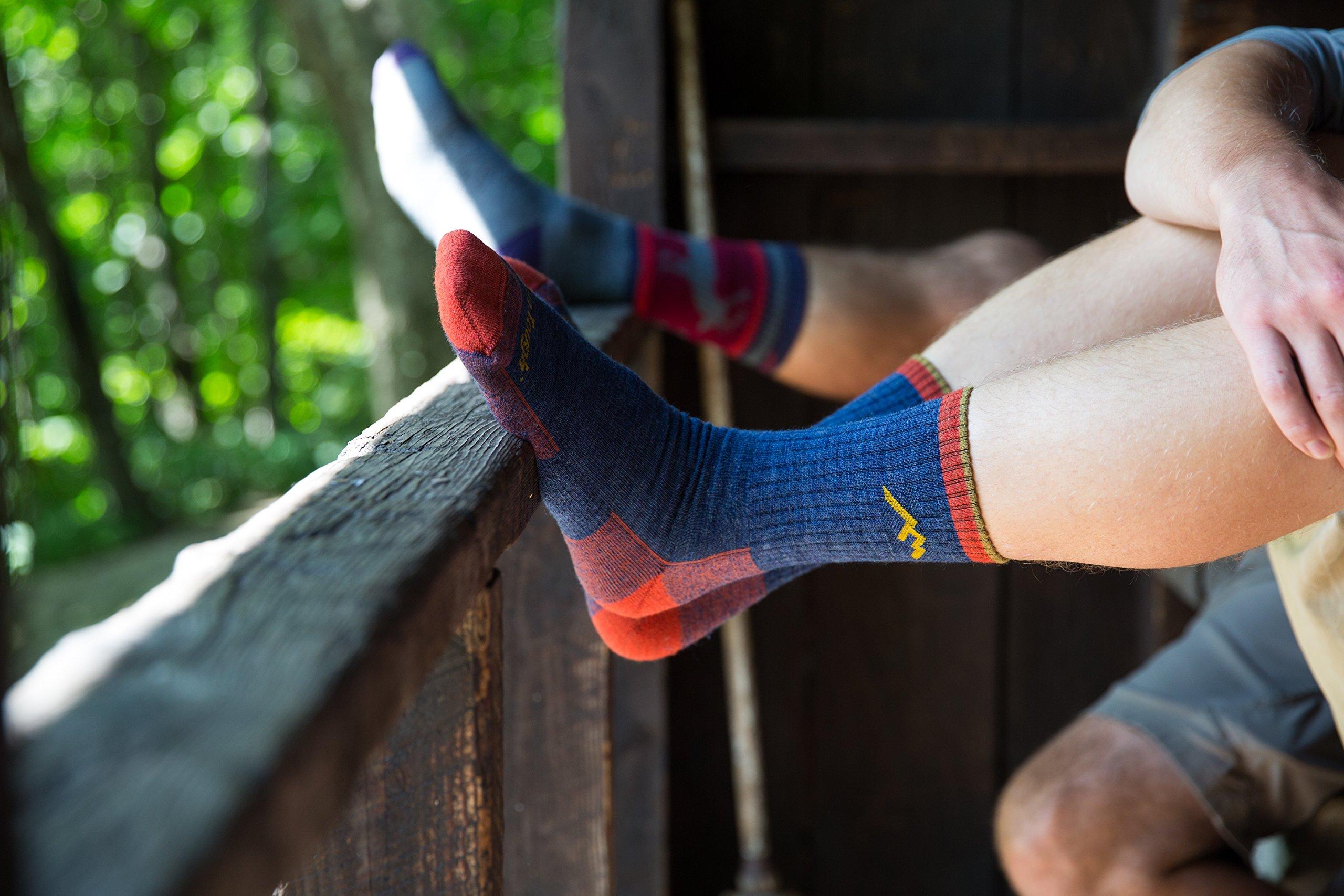 0bad9267a14 Darn Tough Men s Merino Wool Micro Crew Cushion Sock (Style 1466 ...