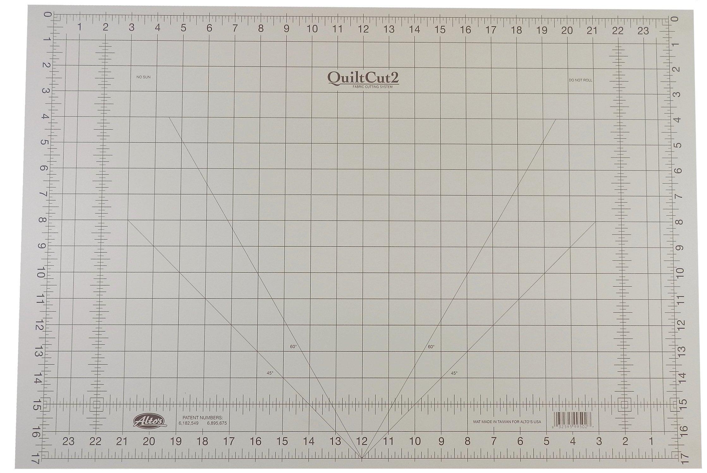 QuiltCut Self Healing Rotary Cutting Mat - 18'' x 26''