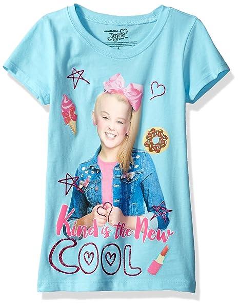 9a5865ed44d1d Amazon.com: Jojo Siwa Girls' Little Short Sleeve T-Shirt: Clothing