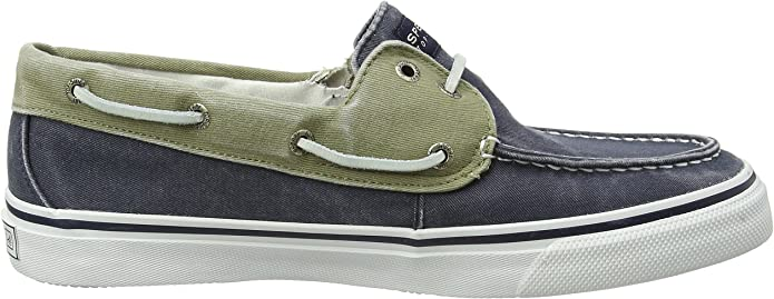 Sperry Bahama Canvas, Mocasines de Lona Para Hombre, Azul (Navy ...