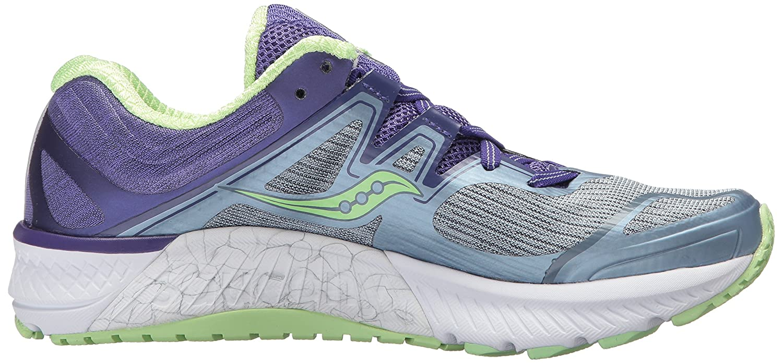 Saucony Women's Guide Iso Running Shoe B072JTVVYG 11 W US|Fog/Purple