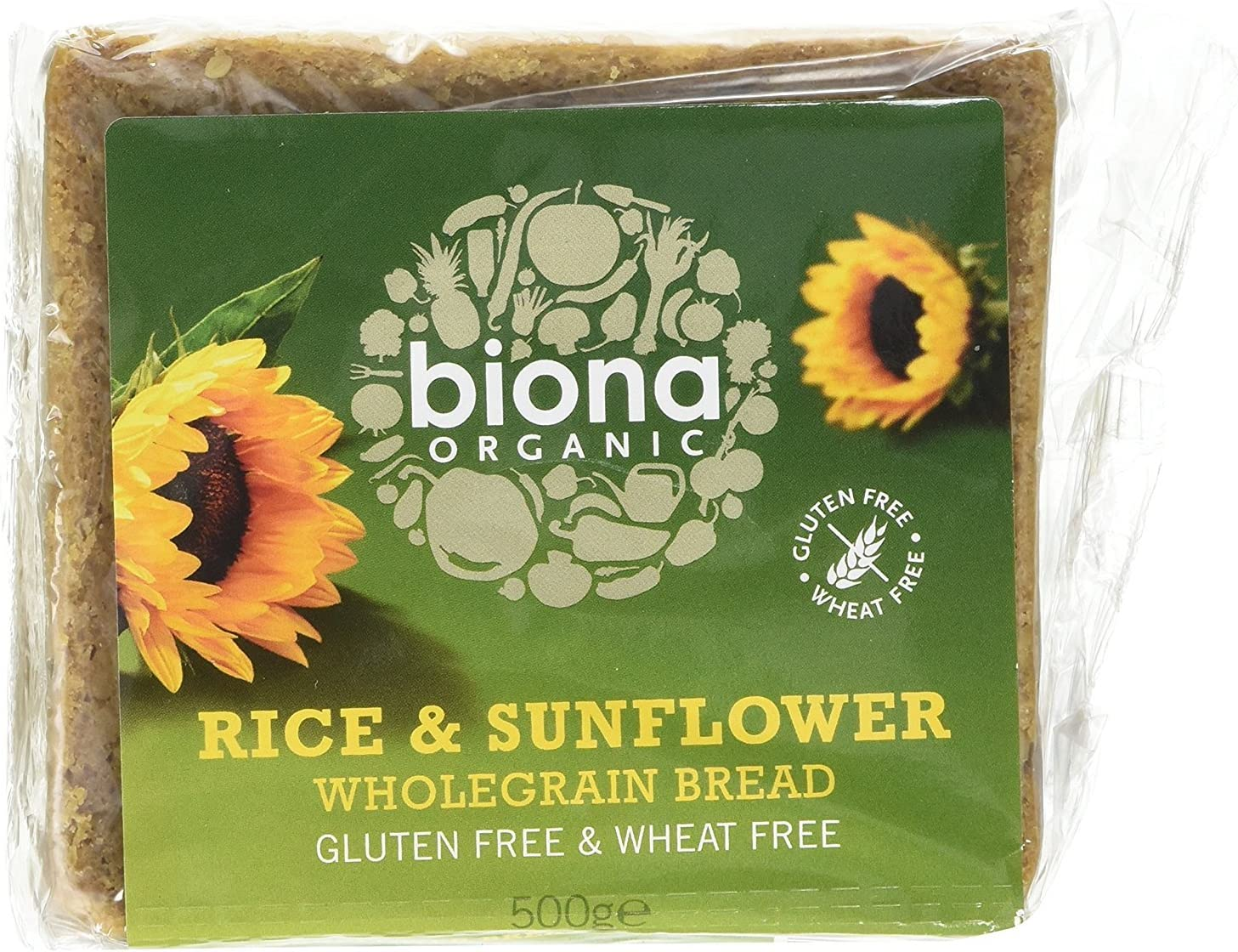 Biona | Rice Bread with Sunflower Seed | 6 x 500g