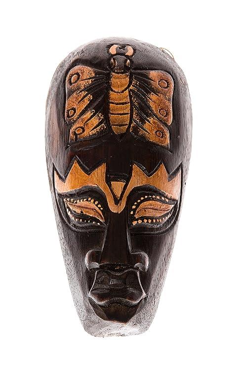 20cm Madera Maske Mascara Careta caratula Esculture Figura ...