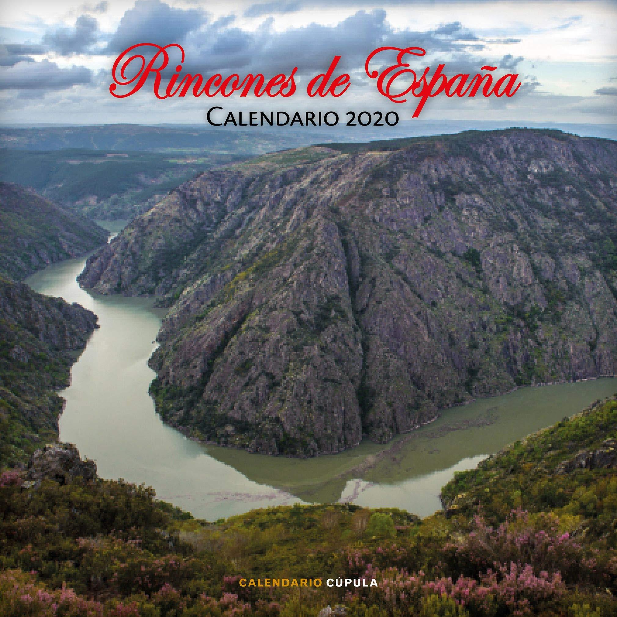 Calendario Rincones de España 2020 Calendarios y agendas: Amazon ...